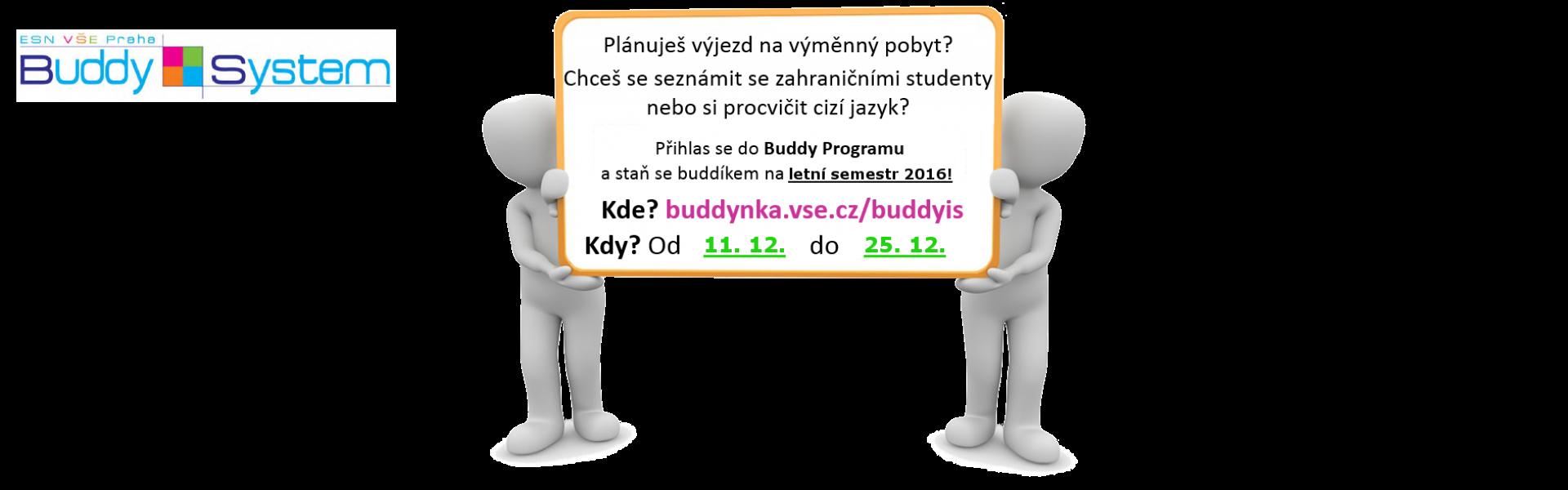 Registrace do Buddy Programu prodlouženy!